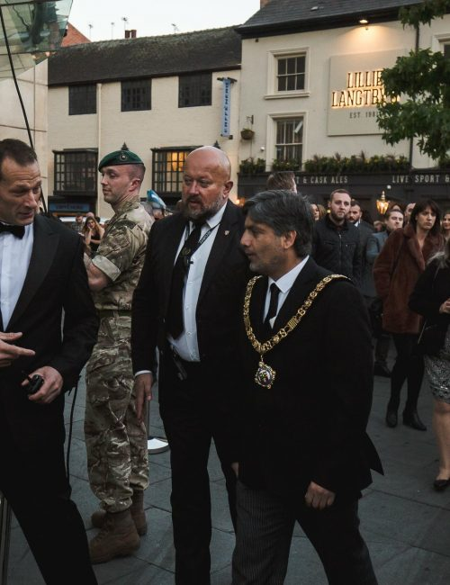 celebrity protection nottingham trident security